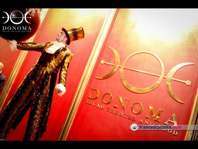 CIRCO NERO SHOW @ DONOMA Sound Theater and Food 15 Mar '14 CIVITANOVA MARCHE