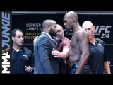 UFC 214 press conference face-offs