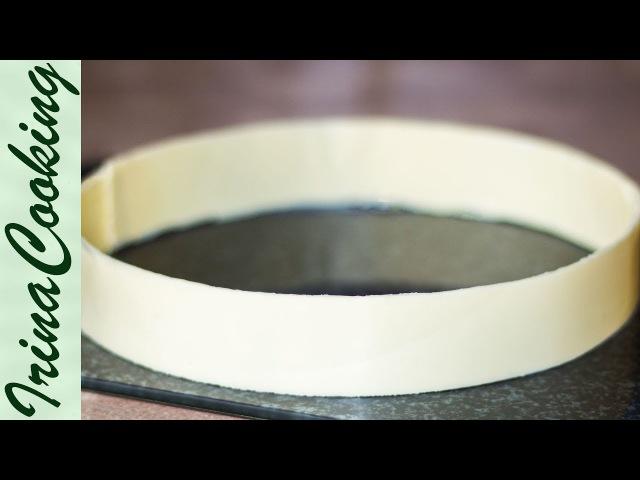 ШОКОЛАДНЫЙ БОРДЮР для торта ○ ДЕКОР