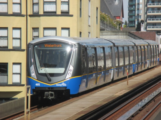 Vancouver Skytrain and Canada Line In Action II Aug Sep 2016