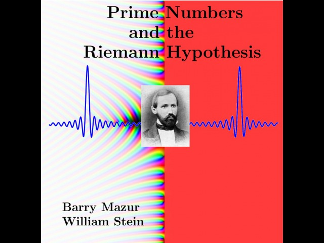 Barry Mazur A Lecture on Primes and the Riemann Hypothesis 2014