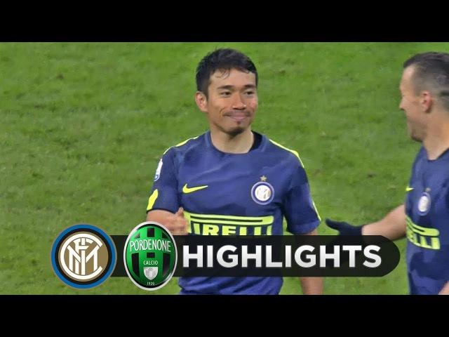 12.12.2017 Inter 0-0 (5-4 rig.) Pordenone, Coppa Italia, ottavi di finale