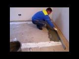Как выровнять кривой бетонный пол