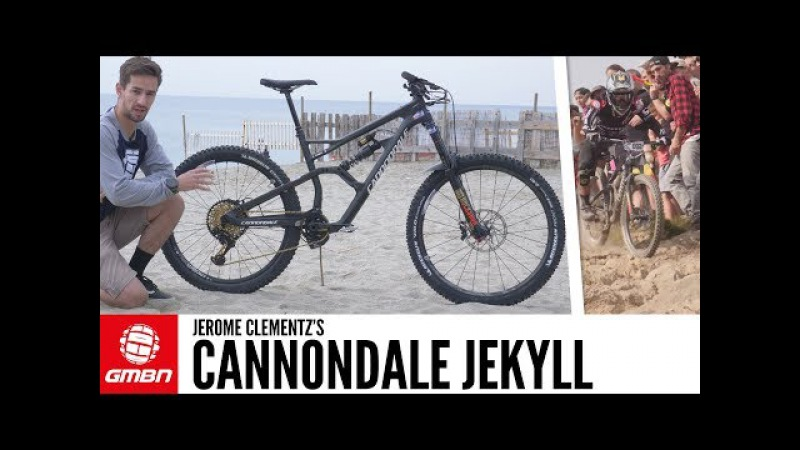 Jerome Clementz's Cannondale Jekyll | GMBN Pro Bikes