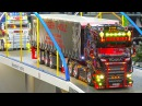 GREAT RC MODEL TRUCKS IN MOTION!!*RC SCANIA TRUCK*RC MAN TRUCK*MB TRUCK*US TRUCK