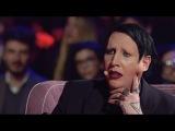 Marilyn Manson interview on italian TV show «Music» 2017