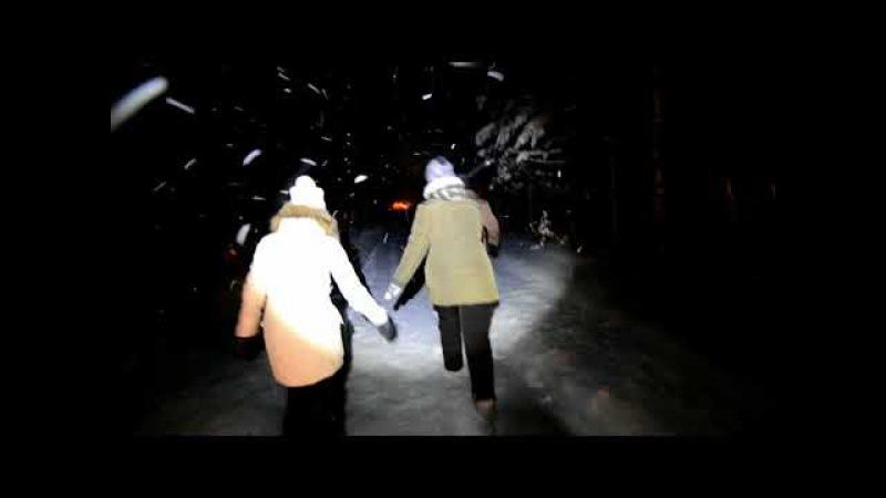 пробиваем дорогу на Ледяной фонтан, 9 декабря 2017 года