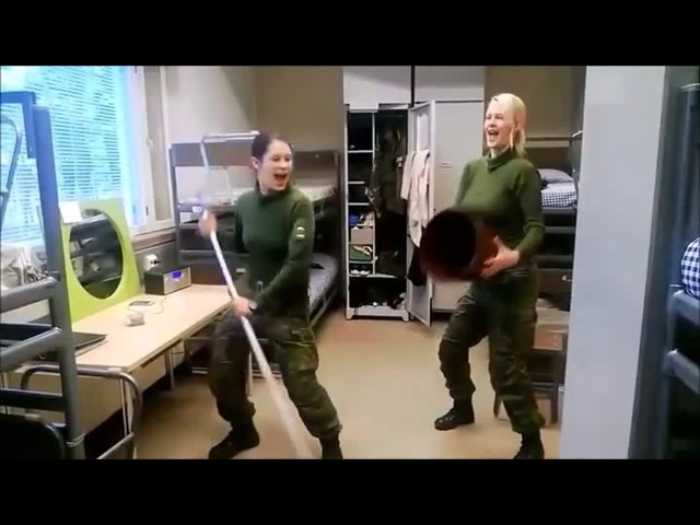 Army dances