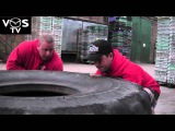 VOS TV - East 17's Terry Coldwell Vs Sean Kennedy (UK Strongest Man, under 105kg)