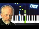 Tchaikovsky March from the Nutcracker EASY Piano Tutorial by PlutaX