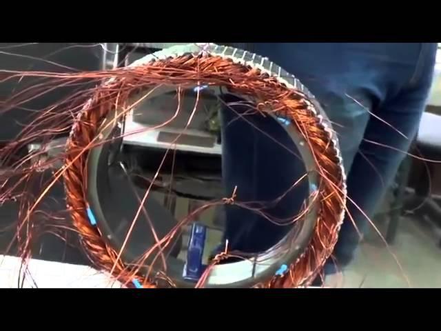 Лучшее в мире асинхронное мотор-колесо Дуюнова. Производство