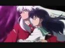 Kanketsu-hen: Inuyasha and Kagome kiss (full scene)