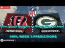 Cincinnati Bengals vs. Green Bay Packers   #NFL WEEK 3   Predictions Madden 18