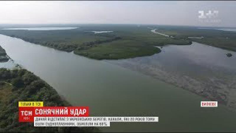 Історії ТСН. Сонячний удар: Дунай збільшує територію України і негативно вплива ...