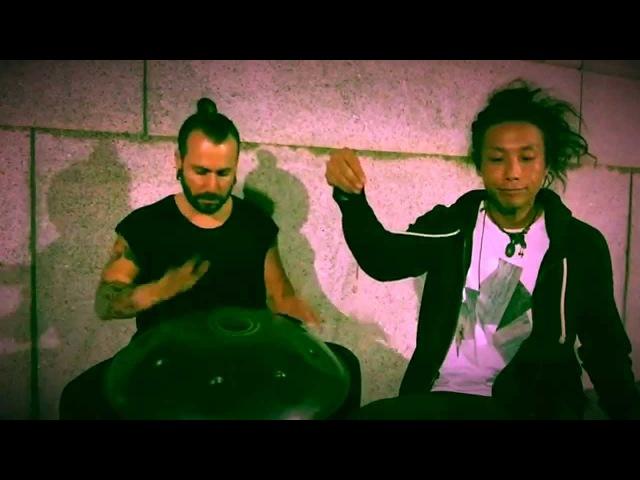 Street Jam (Handpan Beatbox) Adrian J Portia Reo Matsumoto