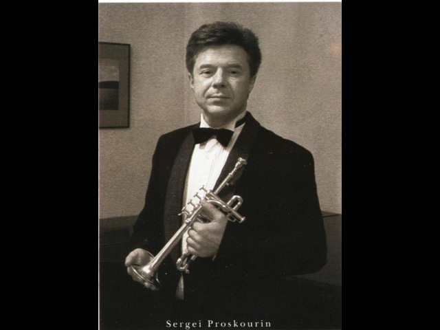 L.Mozart Concerto for Trumpet and Orchestra.Andante, Allegro.Soloist - Sergei Proskourin (trumpet)