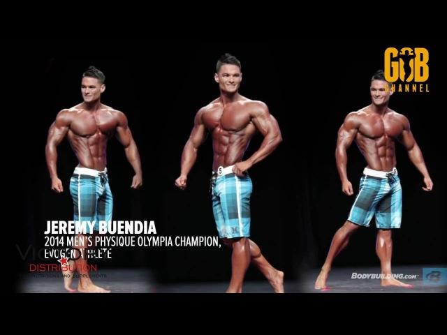 Jeremy Buendia. Тренировка груди и бицепсов FST-7