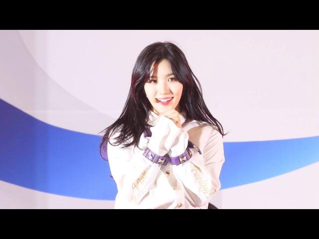 171208 프리스틴 WEE WOO 4K 시연 직캠 PRISTIN Xiyeon fancam (러브밀크페스티벌) by Spinel