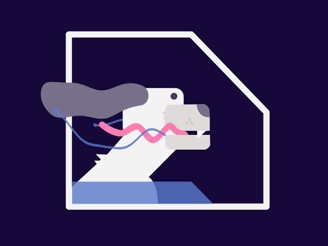 Анимация собаки Слюньки в Afer Effects