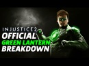 Injustice 2 - Green Lantern Official Moveset and Breakdown