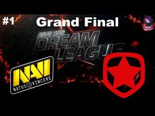 Grand Final NaVi vs Gambit #1 (bo3) DreamLeague Season 8 22.09.2017