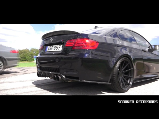 Iconic BMW E92 M3 w/ ARMYTRIX X-Pipe Track-Edition Exhaust - Brutal Revs Accelerations!