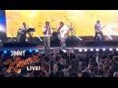 Miguel и Travi$ Scott шоу Джимми Киммела с треком «Sky Walker»