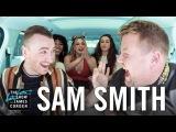 Carpool Karaoke w Sam Smith ft. Fifth Harmony
