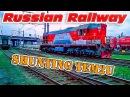 TEM2u 8401 in train depot ТЭМ2у 8401 в моторвагонном депо ТЧ 7