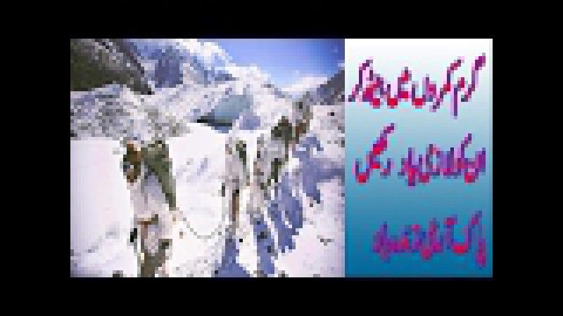 Pakistan Army Jawans in siachen glacier
