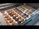 Производство пончиков Krispy Kreme