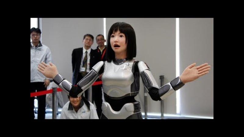 Роботы андроиды похожие на людей