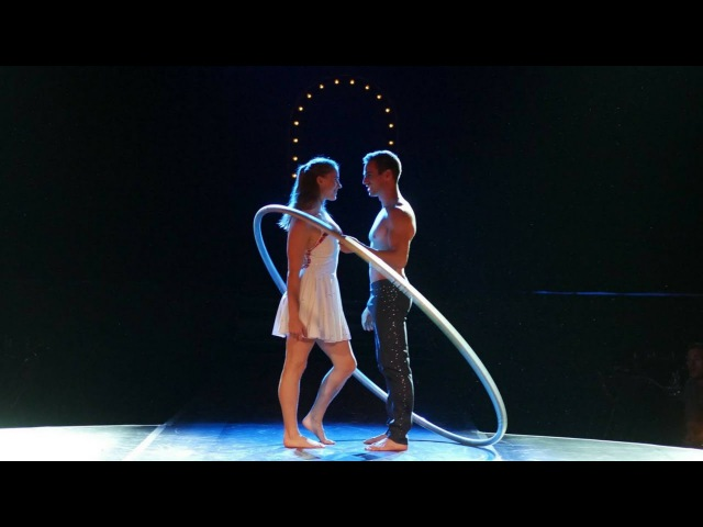 DUO UNITY | Dinner Show ARoma Antwerpen 2016 | Duo Cyr Wheel - Duo Roue Cyr