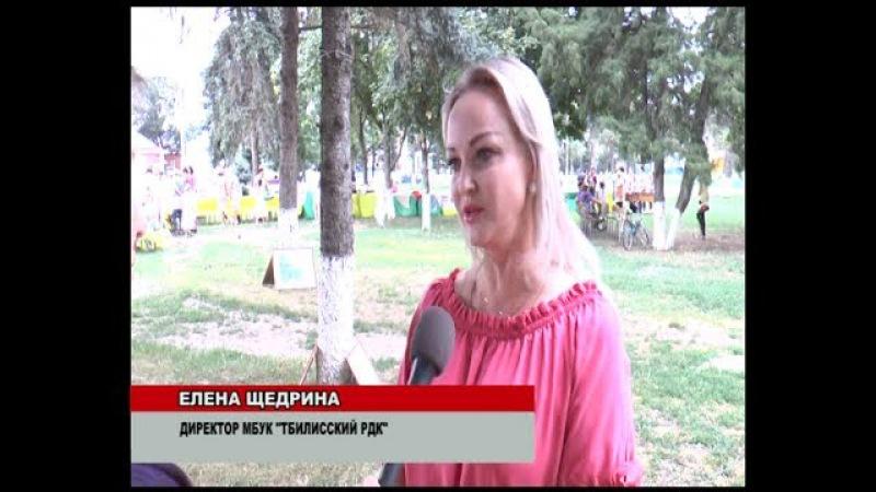 В ст.Тбилисской открылся Арбат-декоративно-прикладное творчество жителей (ТРК...