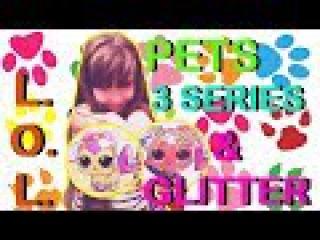 лол куколки. lol 3 серии LOL Pets Surprise Series 3 и Glitter #питомцы и #куклы #lol #пупсики