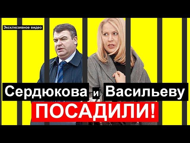 Сердюкова и Васильеву - ПОСАДИЛИ