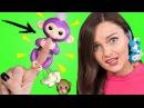 ОНА ЖИВАЯ! Что умеет обезьянка FINGERLINGS Обзор и распаковка необычной игрушки