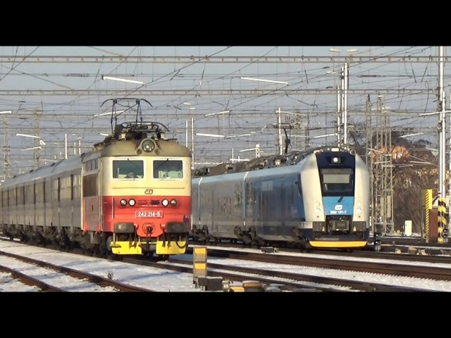 Vlaky Břeclav 1.12.2017