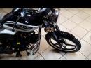 Обновлённый мотоцикл Альфа Alpha RX Мопед
