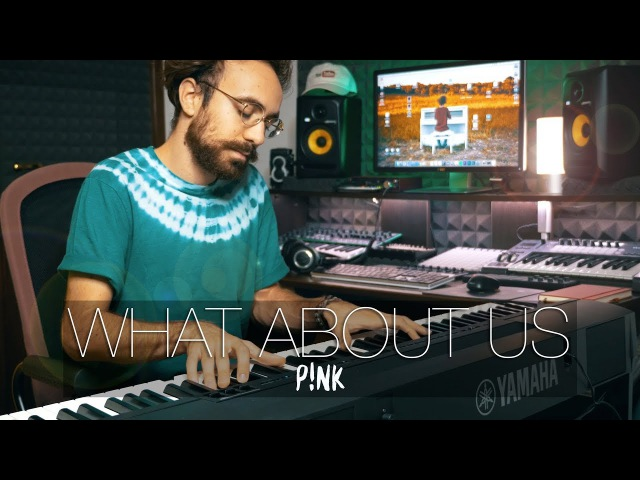 What About Us - Pink (Piano Cover) - Costantino Carrara