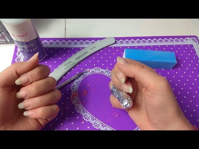 Дизайн ногтей с платиной Геометрия