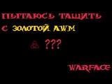 Пытаюсь тащить с золотой AWM | Warface