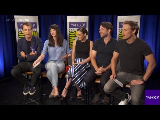 The Cast of 'Outlander' Recite Their Lines in American Accents RUS SUB