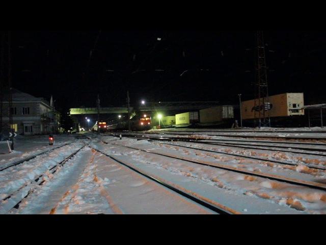 Отправление последнего рейса поезда №5 Улан-Батор – Москва