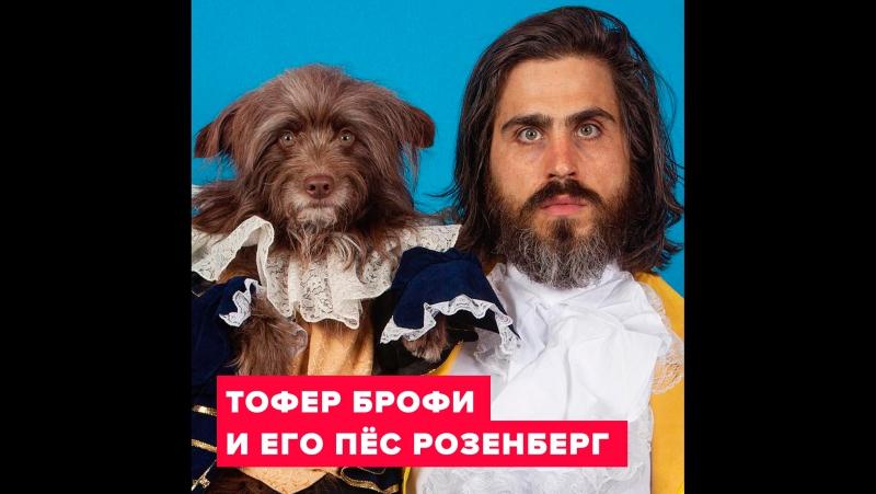 Как собаки похожи на хозяев: Тофер Брофи и его пёс Розенберг