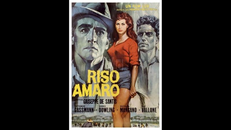 RISO AMARO (1948)-G.DeSantis-Silvana Mangano,Raf Vallone,Vittorio Gassman