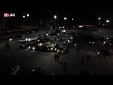 В Рязани водители выстроились из машин надпись