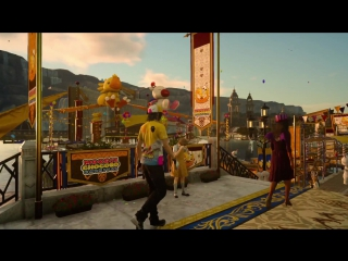 Final Fantasy XV трейлер карнавала