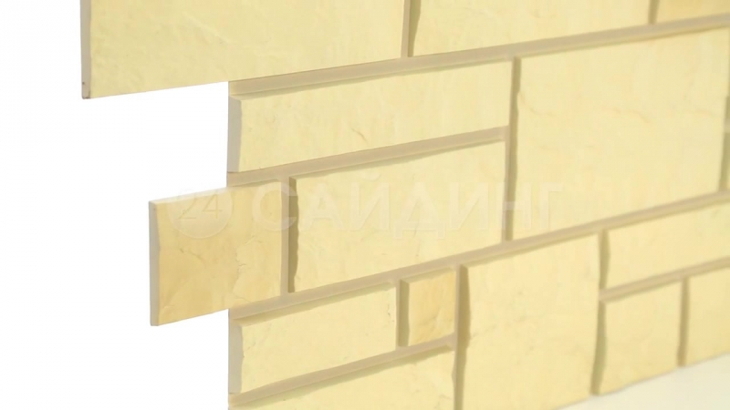 Цокольный сайдинг Döcke-R (Дёке) коллекция Burg (Тесаный кам
