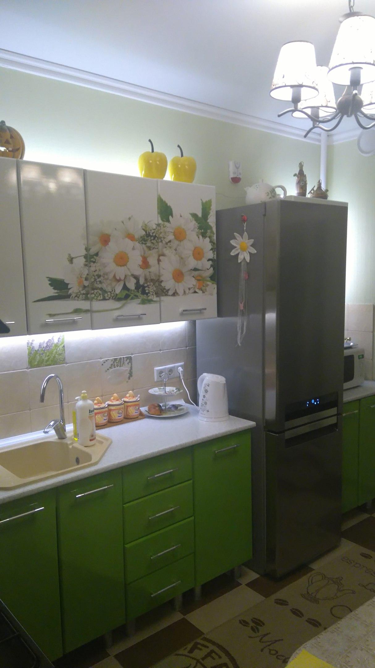 Кухня, заказанная в Первом мебельном магазине